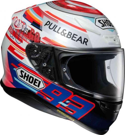 Shoei NXR Marquez Power up! TC-1 Helmet