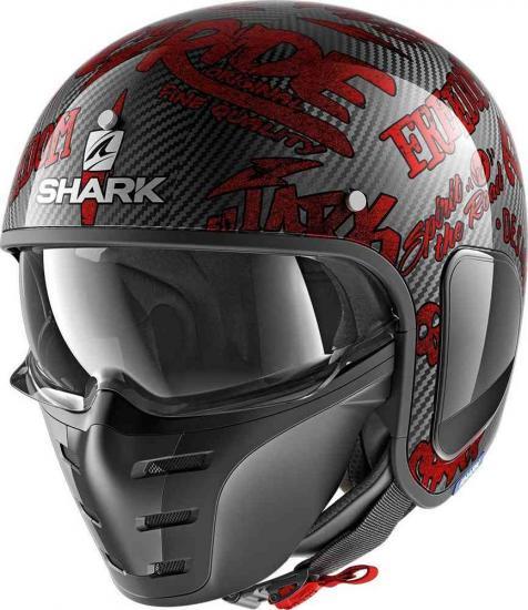 Shark-S-Drak Freestyle Cup Jet Helmet