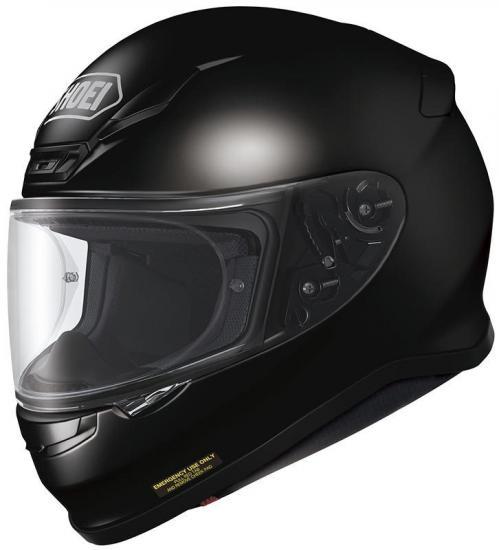 Shoei NXR Motorcycle Helmet Black