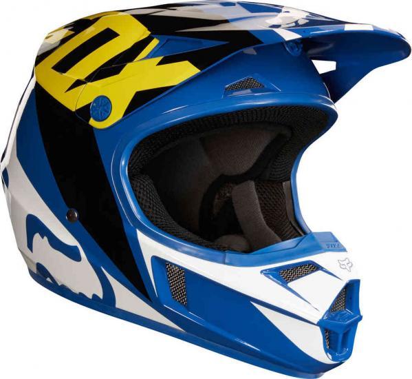 FOX V1 Race Youth MX Helmet