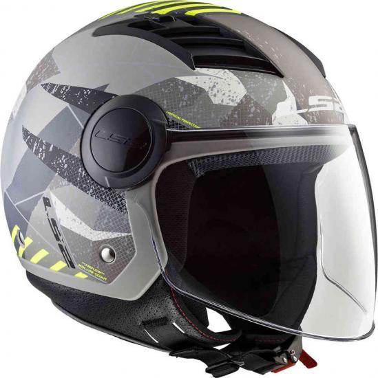 LS2 OF562 Airflow L Camo Jet Helmet