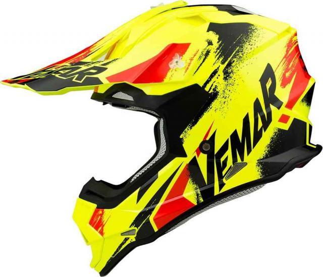 Vemar Taku Sketch Motocross Helmet
