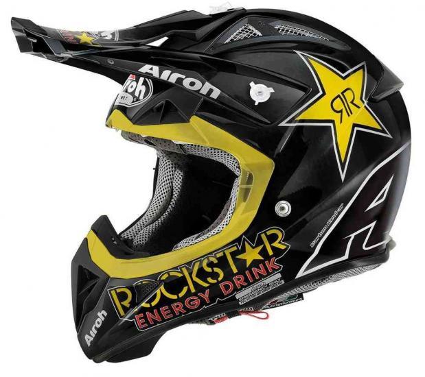 Airoh Aviator 2.1 Rockstar Motocross Helmet