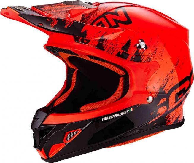 Scorpion VX-21 Air Mudirt Cross Helmet