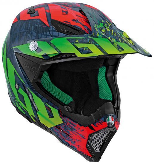 AGV AX-8 Carbon Nohander Motocross Helmet