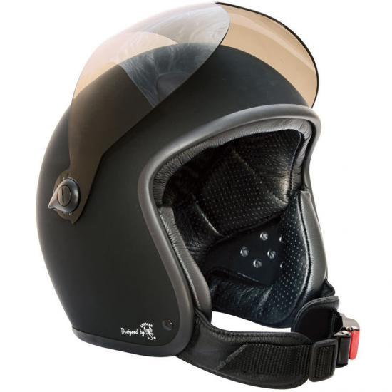 Bores Bogo II Jet Helmet Black Matt