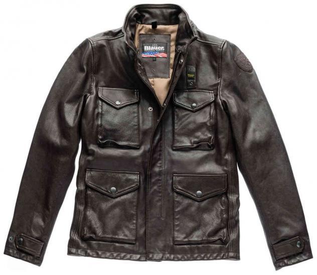 Blauer USA Colorado Leather Jacket