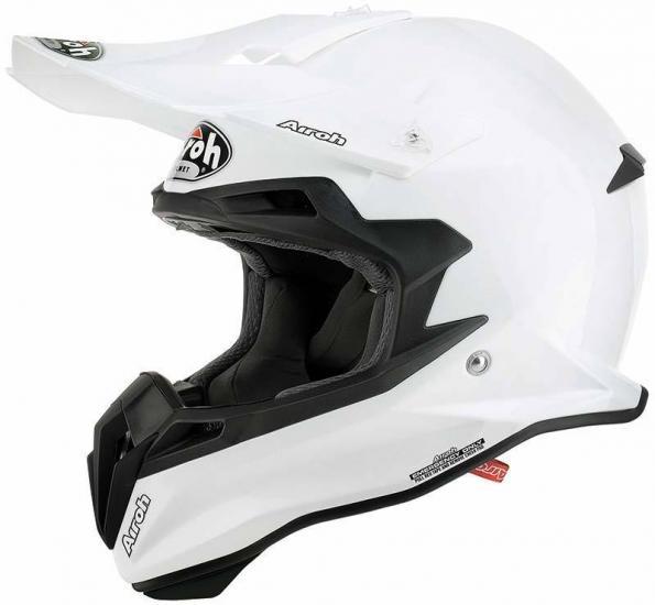 Airoh Terminator 2.1 Motocross Helmet White