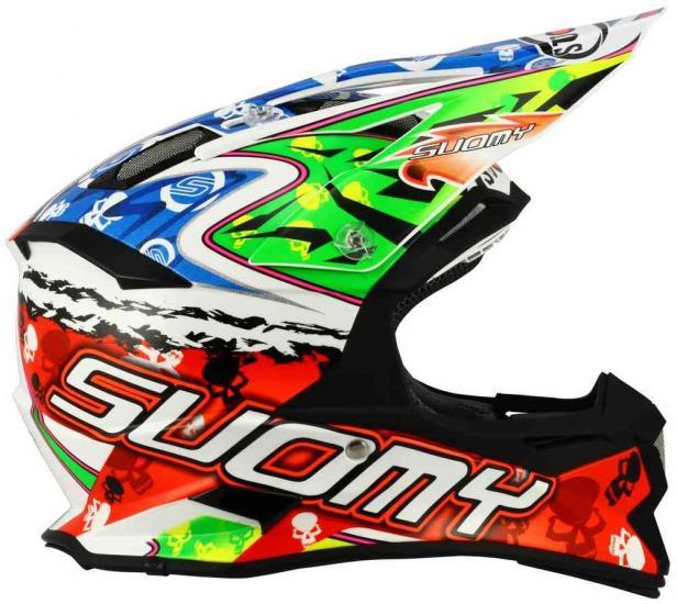 Suomy Alpha Warrior Motocross Helmet