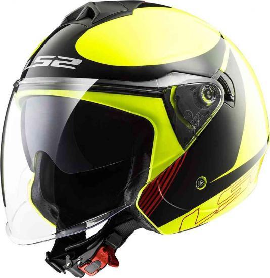 LS2 OF573 Twister Plane Jet Helmet