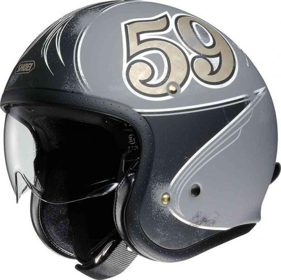 Shoei J.O Gratte-Ciel Jet Helmet