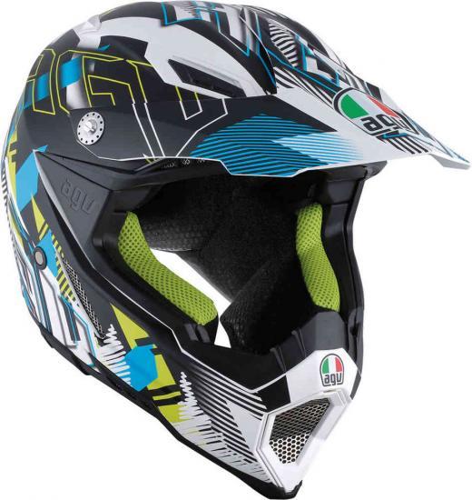 AGV AX-8 Evo Nofoot Motocross Helmet