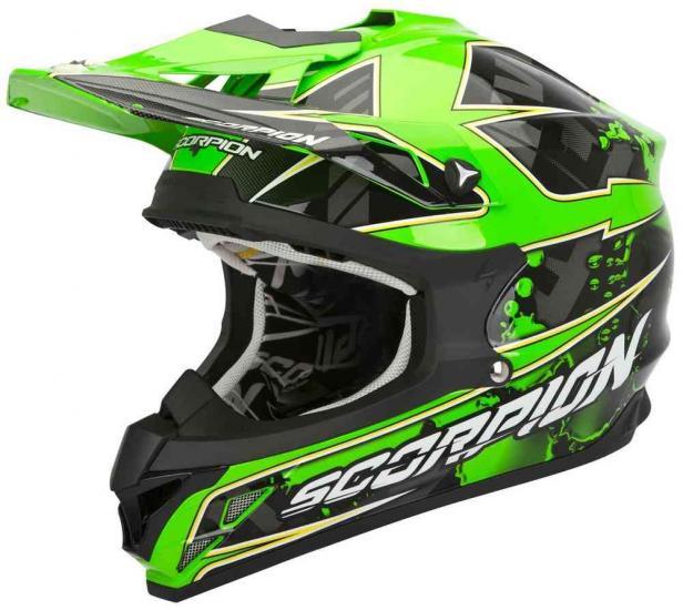 Scorpion VX-15 Evo Air Magma Cross Helmet