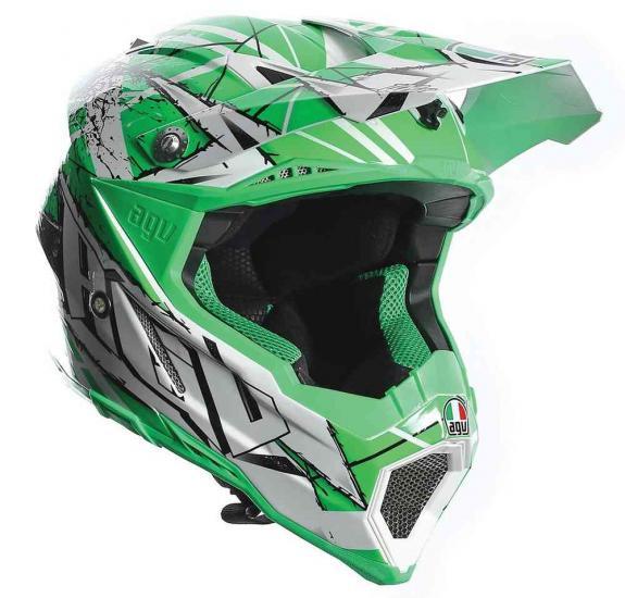 AGV AX-8 Evo Scratch Motocross Helmet