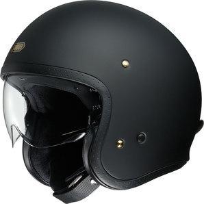 Shoei J.O Jet Helmet matt black