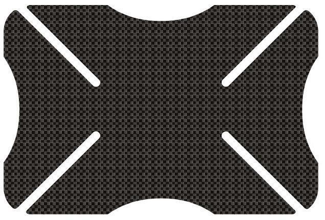Oxford Carbon Weave Helmet Bumper