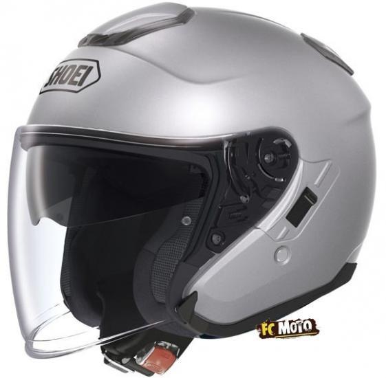 Shoei J-Cruise Jet Helmet Silver