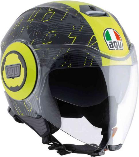 AGV City Fluid Ibiscus Jet Helmet