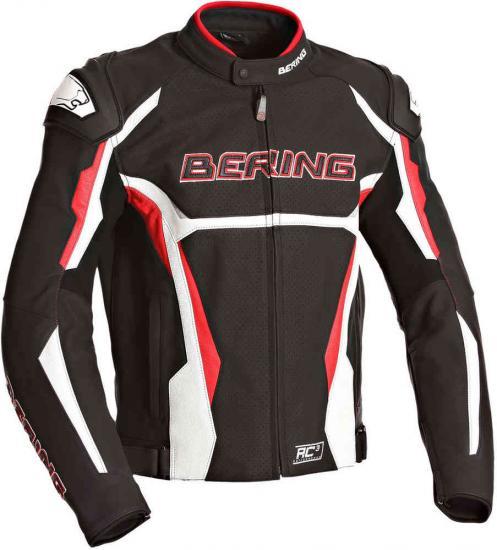 Bering Kingston Evo-R Motorcycle Leather Jacket