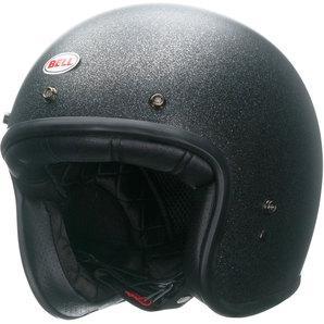 Bell Custom 500 matte black flake