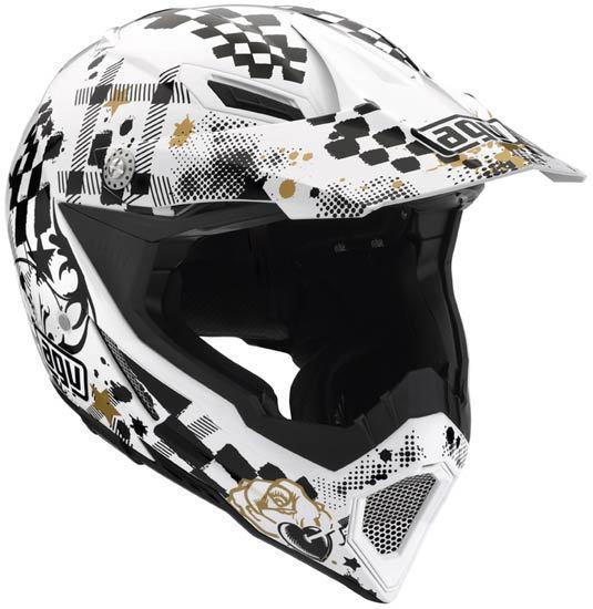 AGV AX-8 Spyder Motocross Helmet