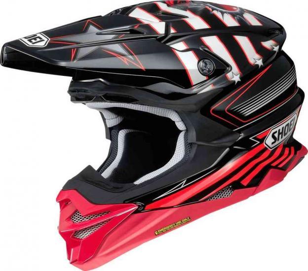 Shoei VFX-WR Grant 3 Motocross Helmet