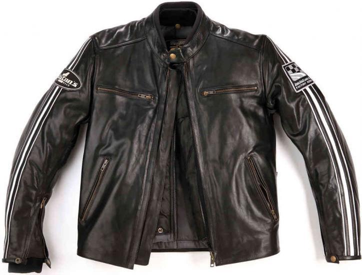 Helstons Ace Plain Leather Jacket