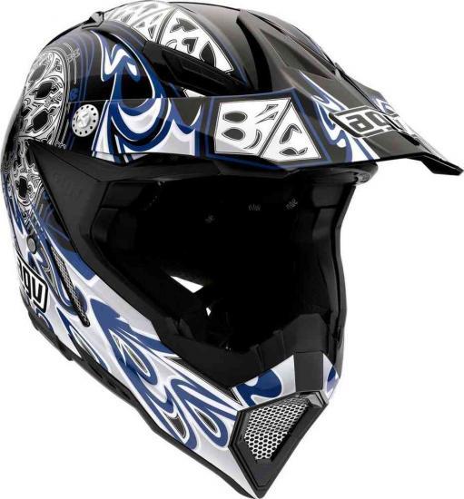 AGV AX-8 5 Gothic Flame Motocross Helmet