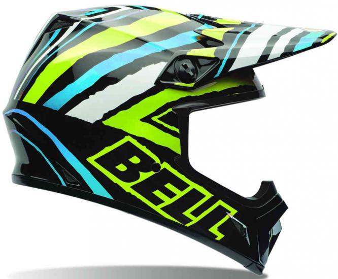 Bell MX-9 Tagger Motocross Helmet
