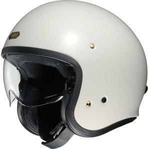 Shoei J.O Jet Helmet off white