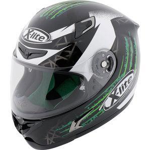 X-lite X-802RR Green Effect Full-Face Helmet
