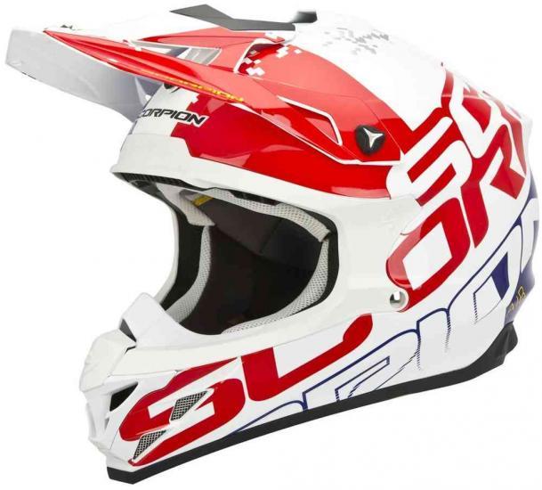 Scorpion VX-15 Evo Air Grid Cross Helmet