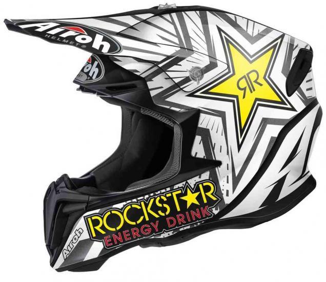 Airoh Twist Rockstar Motocross Helmet