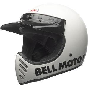 Bell Moto-3 classic white