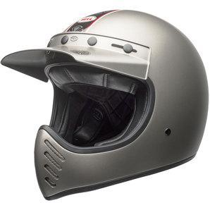 Bell Moto-3 independent matte titanium