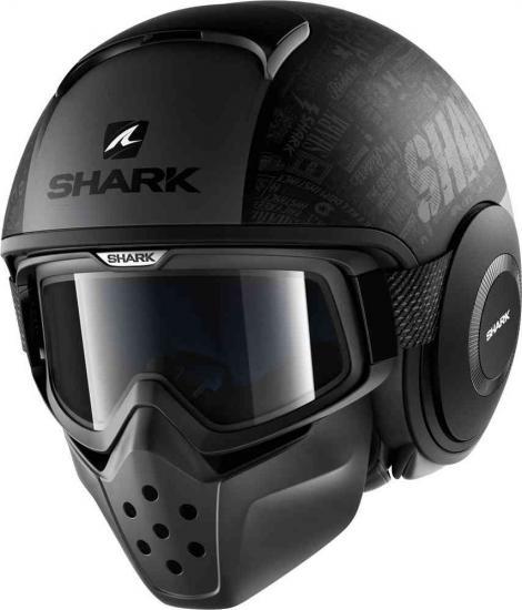 Shark Drak Tribute Mat RM Jet Helmet