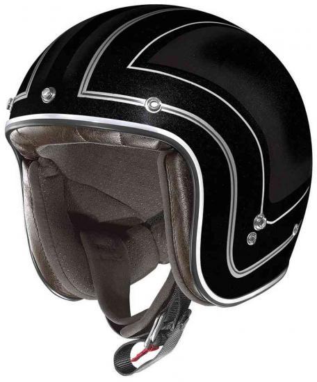 X-lIte X-201 Caliente Demi Jet Helmet