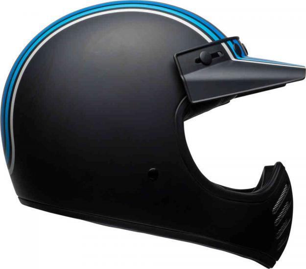 Bell Moto-3 Stripes Motocross Helmet