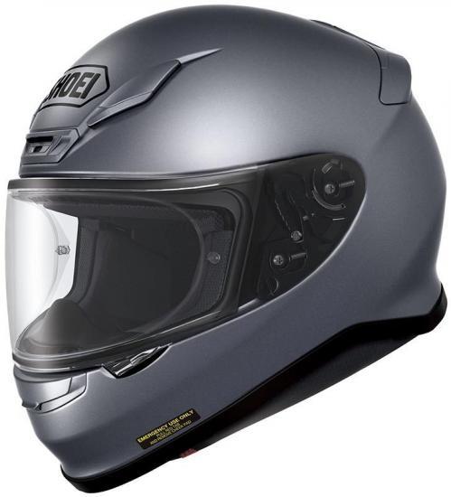 Shoei NXR Pearl Motorcycle Helmet Grey