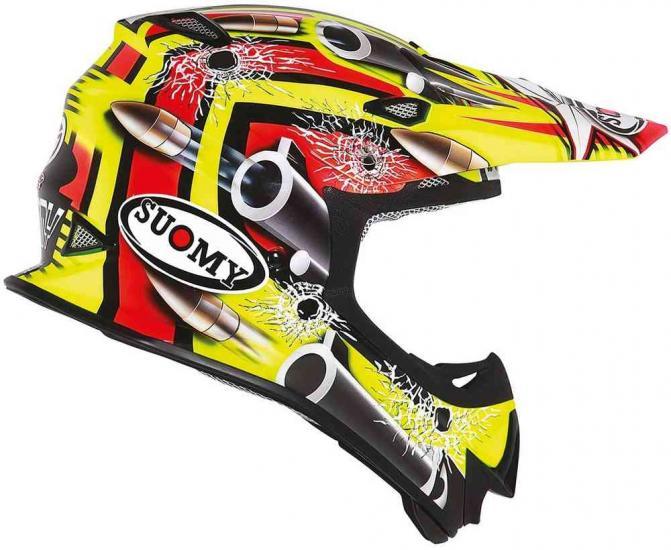 Suomy MR Jump Bullet Motocross Helmet