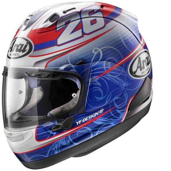 Arai RX-7 V Pedrosa Helmet