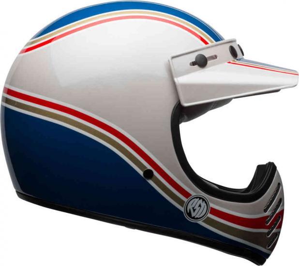 Bell Moto-3 Seasonal RSD Malibu Motocross Helmet