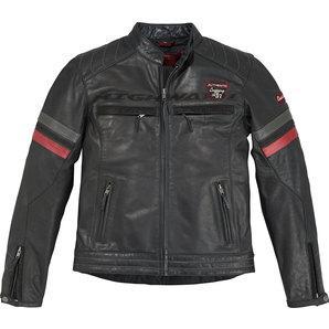 Highway I Sports II leather jacket black/red