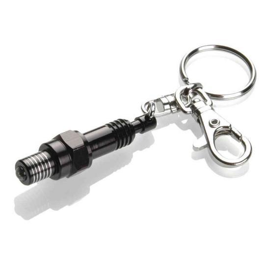 Booster Keychain Spark Plug LED