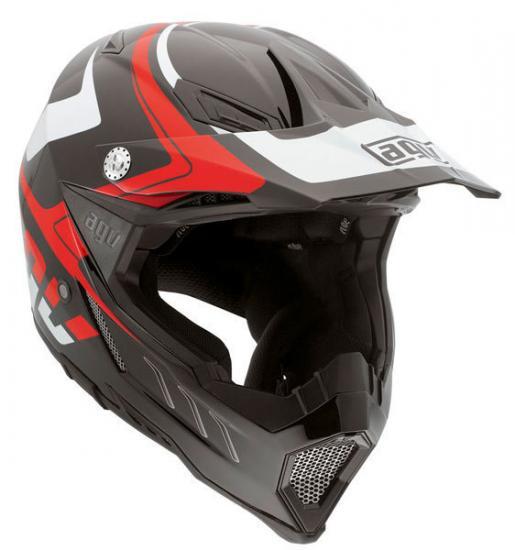 AGV AX-8 Evo Klassik Motocross Helmet