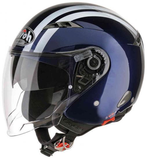 Airoh City One Flash Jet Helmet