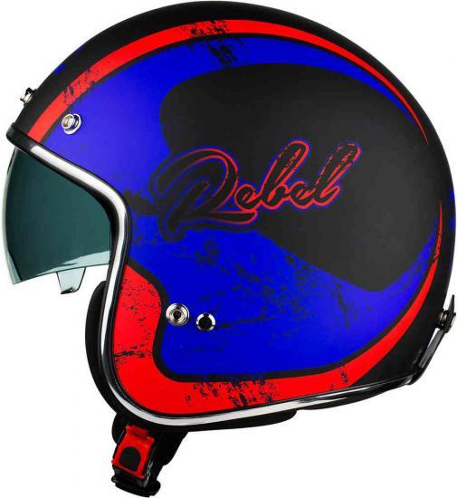 Vemar Chopper Rebel Jet Helmet