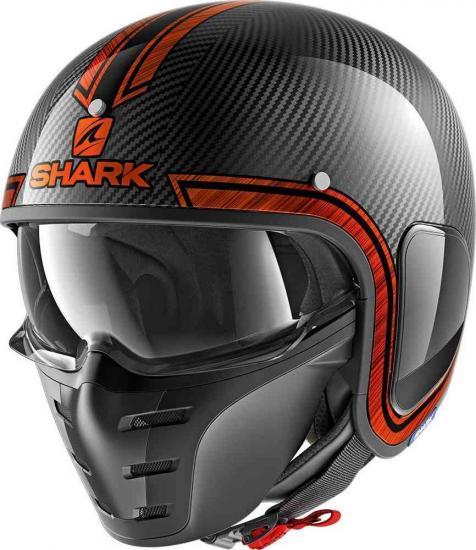 Shark-S-Drak Vinta Jet Helmet