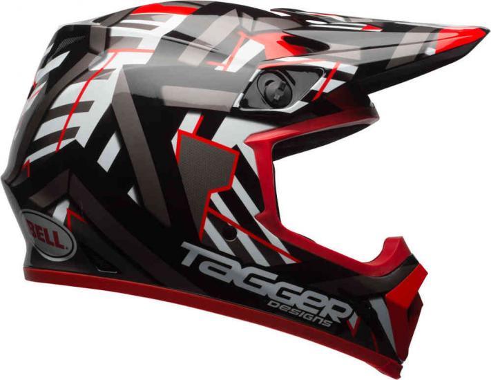 Bell MX-9 Tagger Double Trouble Mips Motocross Helmet