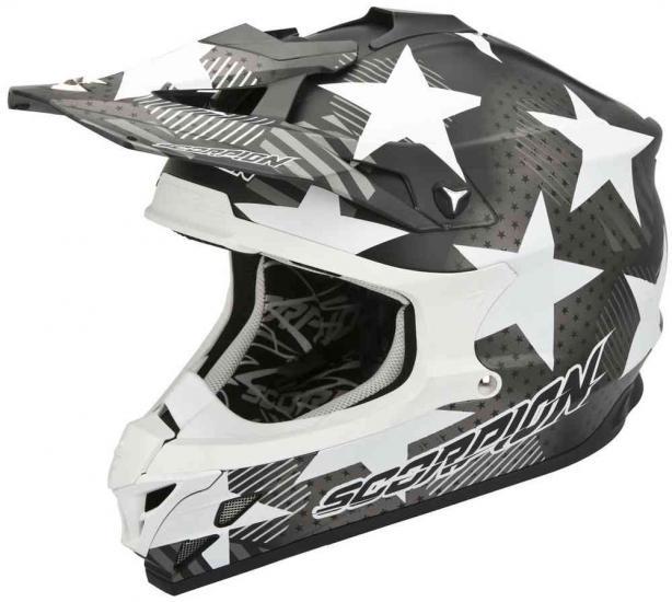 Scorpion VX-15 Evo Air Stadium Cross Helmet